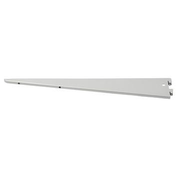Handson drager dubbel railsysteem mat zilver 22 cm