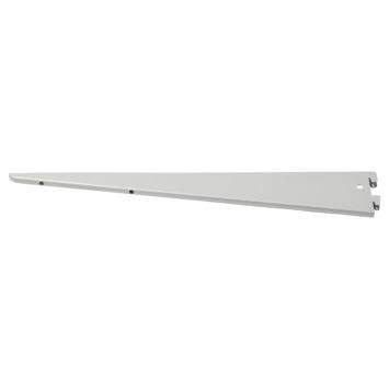 Handson drager dubbel railsysteem mat zilver 37 cm