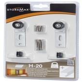 StoreMax wielset t.b.v. H20 metaal wit 2 stuks