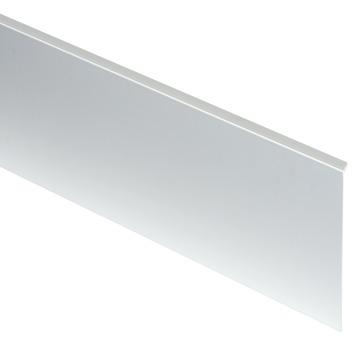 StoreMax afdeklijst metaal zilver 24x6,1x1,2 cm