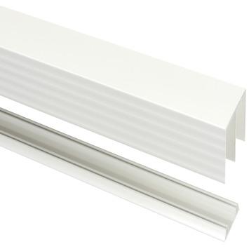 StoreMax rail t.b.v. R40 metaal wit 180x8,1x4,1 cm