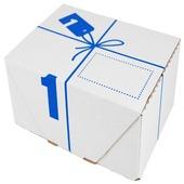 Postverzenddoos 1 karton wit 20x14x8 cm