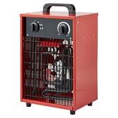 Handson werkplaatskachel 3000W metaal rood 25,2x19,6 cm