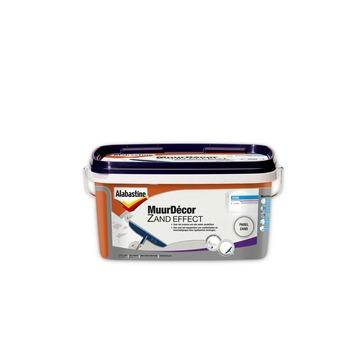 Alabastine MuurDécor Zand Effect parel RAL9010 5 liter