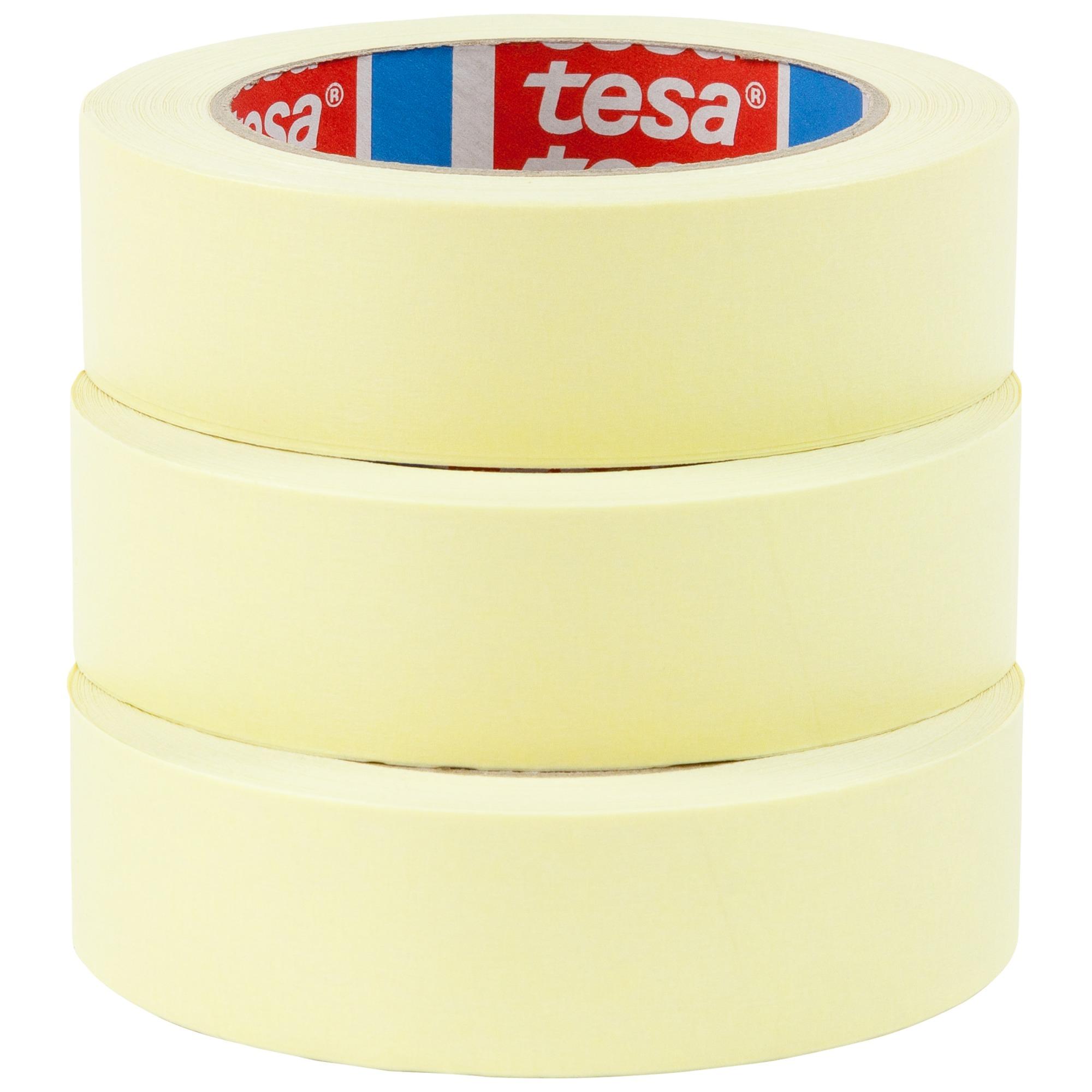 Tesa-tape universele set (l x b) 50 m x 30 mm Beige 55338 TESA Inhoud: 3 rollen
