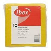 Ibex huishouddoekjes geel 10 stuks
