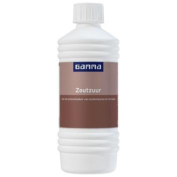 GAMMA zoutzuur 500 ml