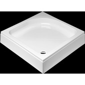 Get Wet by sealskin Optimo douchebak opbouw vierkant met voorpaneel wit 90x90 cm