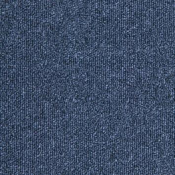 Tapijttegel Walk donkerblauw 50x50 cm