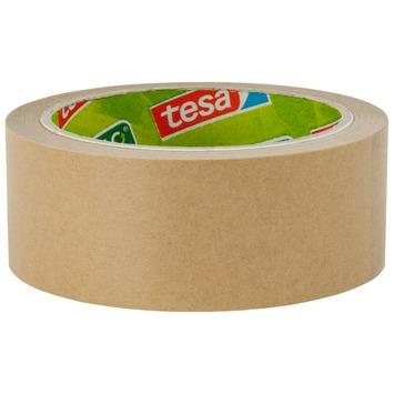 Tesa verpakkingstape eco papier 25 meter 38 mm bruin