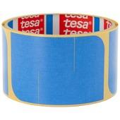 Tesa afplaktape hoeken 60 stuks blauw