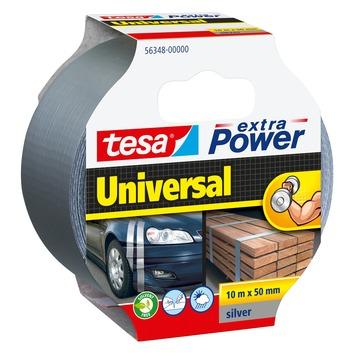 Tesa Extra power reparatietape 50 mm 10 meter grijs