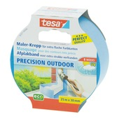 Tesa afplaktape Precision outdoor 38 mm 25 meter blauw