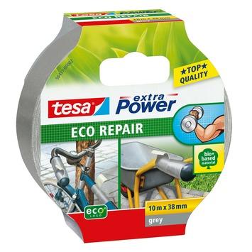 Tesa Extra power reparatietape eco universeel 38 mm 10 meter grijs