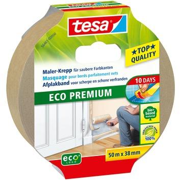 Tesa afplaktape eco premium 38 mm 50 meter beige