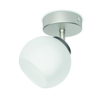 Philips plafondspot Balla LED 1X4W nikkel