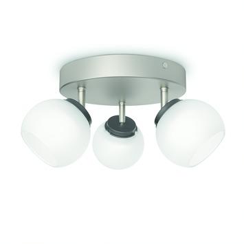 Philips triospot Balla LED 3X4W nikkel
