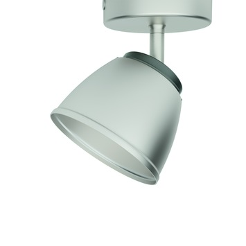Philips plafondspot County LED 1X4W nikkel
