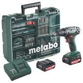 Metabo accuschroefmachine BS14.4 met extra accu en toolbox 2.0