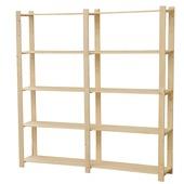 GAMMA opbergrek hout 170x170x30 cm