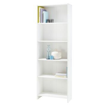 boekenkast lars wit 171x60x24 cm