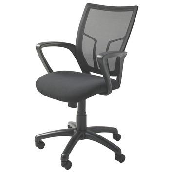 Bureaustoel Met Verwarming.Bureaustoel Mirthe Zwart 90x61x61 5 Cm