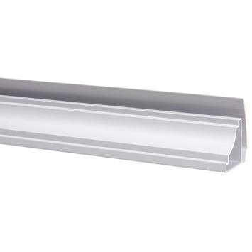 Plafondprofiel kunststof wit 25x25 mm 270 cm