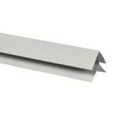 Buitenhoekprofiel kunststof wit 35x35 mm 270 cm