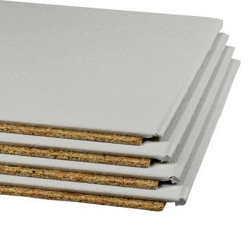 Agnes plafondplaat wit stuc 1200 x 600 x 12 mm 4 stuks