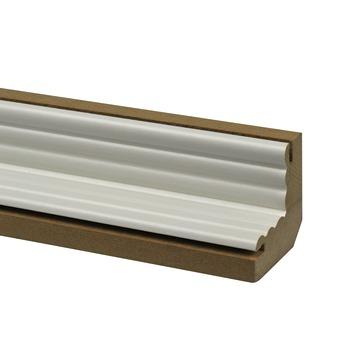 CanDo binnenhoek lambrisering wit 111,5 cm
