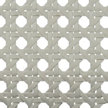 CanDo Radiatorbekleding Webbing Vlechtmat Wit 150x60 cm