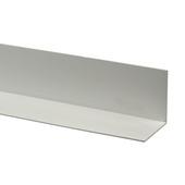 Kunststof Terrastegels 50x50.Gamma Hoekprofiel Kunststof Wit 20x20 Mm 260 Cm Kopen Afwerklijsten
