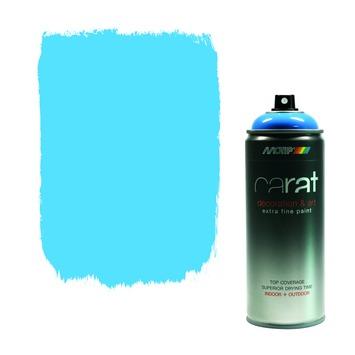 Carat spuitlak true blue 400 ml