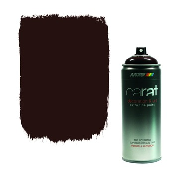 Carat spuitlak chocolate brown 400 ml