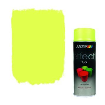 Motip spuitlak fluoriserend geel 400 ml