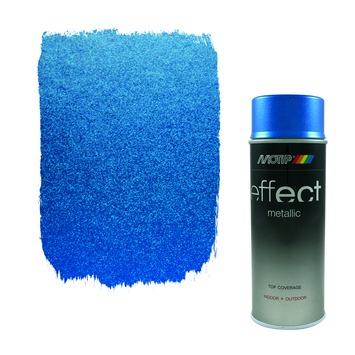 Motip spuitlak metallic blauw 400 ml