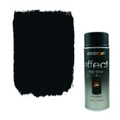 Motip spuitlak hittebestendig zwart 400 ml