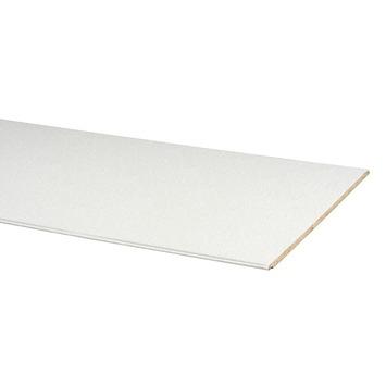 Agnes wandplaat wit stuc 2600 x 600 x 12 mm 1 stuks