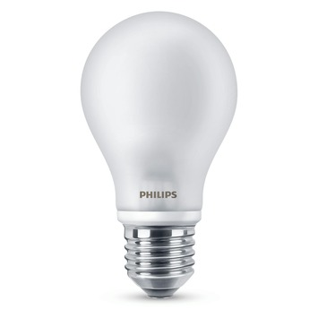 Philips LED lamp E27 60W warm wit 2 stuks