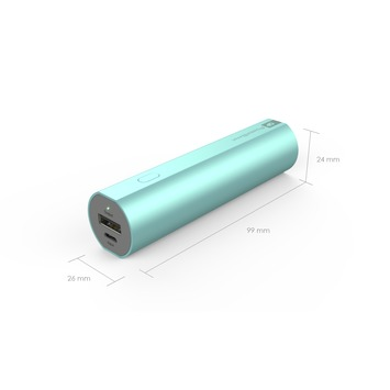 GP PowerBank FN02M 2600 mAh blauw