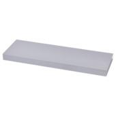 Handson wandpaneel aluminium 38 mm 120x20 cm