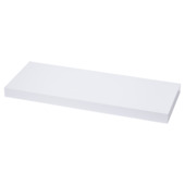 Handson wandpaneel glans wit 38 mm 23,5x23,5 cm