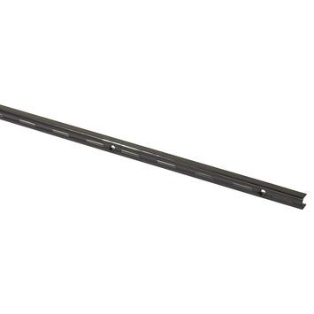 Handson rail enkel zwart 50 cm (2 stuks)