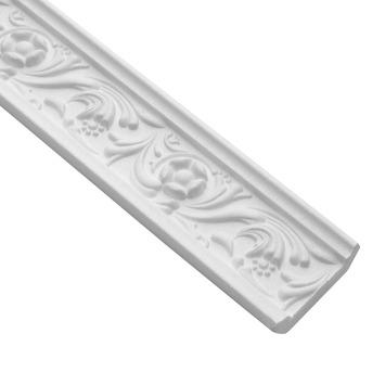 Inspirations plafondlijst / sierlijst Venezia 55mm 2 meter 2 stuks