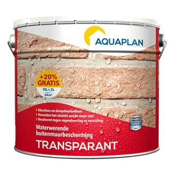 Aquaplan buitenmuurcoating transparant 10 liter + 20% gratis