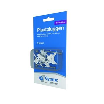 Gyproc gipsplaatplug nylon 5 stuks