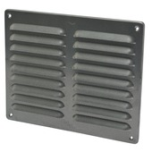 IVC Air schoepenrooster aluminium antraciet 24,5x19,5 cm