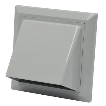 IVC Air overdrukrooster met kap ABS grijs Ø 100-125 mm