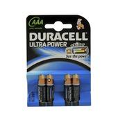 Duracell Ultra Power batterij AAA penlite 4 stuks