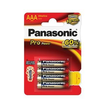 Panasonic Pro Power batterij penlite AAA  4 stuks